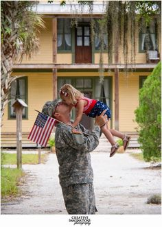 A Military Story: {Deployment} Rountree Family