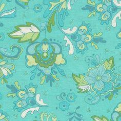 Delft Floral Aqua