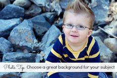 Photography Tips about choosing an awesome background for your images and how and when to blur the background images