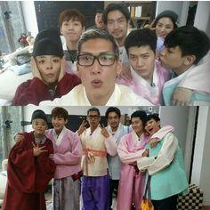 Baamm!!  #roommatefamily #joonhyung #ryohei #jackson #nana #gukjoo #amber #bambam #henry #sbsroommate #roommates2