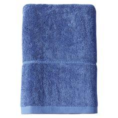 Botanic Bath Towel Blue - Threshold, Blue Monday