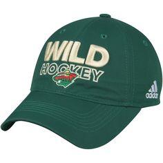 sale retailer a9a7c e4fce Men s Minnesota Wild adidas Green On Ice Adjustable Hat, Your Price   23.99  Minnesota