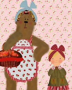 by Sophie Tilley  (Somebody had to take that girl in, so she wouldn't turn out to be a complete heathen...who better than Mama Bear?)
