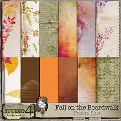 Fall on the Boardwalk - Extra Papers