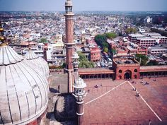 #jamamasjid in #newdelhi What a View!