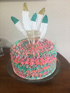 Young wild and three cake Third Birthday Girl, Wild One Birthday Party, Girl Birthday Themes, First Birthday Cakes, 3rd Birthday Parties, Birthday Fun, Birthday Ideas, Lila Baby, Partys