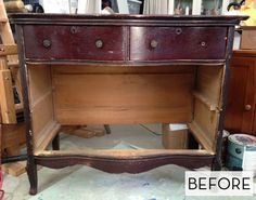 Before and After: A Dresser's Resurrection