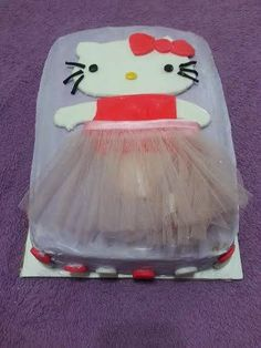 Hello Kitty Cake.  Find me on Facebook or on my website: http://simplygreatcakes.wix.com/simply-great-cakes to order a cake today.