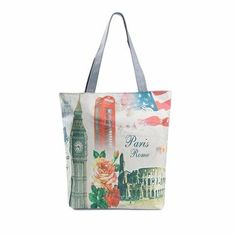 Images Of London Canvas Tote  Bag