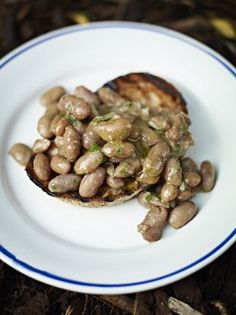 Beans on Toast Recipe   Vegetables Recipes   Jamie Oliver Recipes