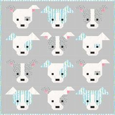 Dog Gone Cute Block Tutorial | We can't get over how doggone cute this block tutorial is!