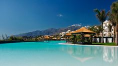 Gran Melia Palacio de Isora: This luxe island escape offers sun, surf and Europe's largest infinity pool.