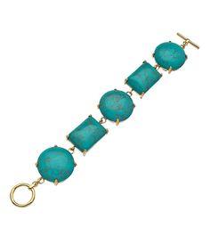 Gottex 'Sunset Cove' Geometric Cabochon Bracelet #maxandchloe