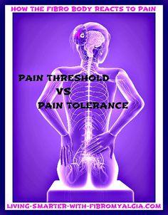 Pain Tolerance vs.Pain Threshold #fibromyalgia