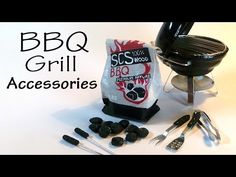 Simple Miniature BBQ Grill Accessory Tutorial - YouTube