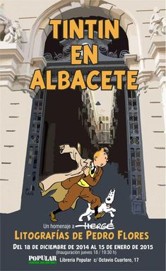 Les Aventures de Tintin - Album Imaginaire - Tintin en Albacete