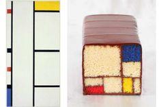Metti Mondrian nel forno: i dessert ispirati ai capolavori