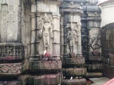 stone sculpture of 64 yoginis, in Kamakhya Temple