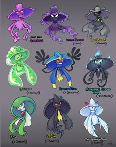 These Mismagius Variations are Funny and Adorable