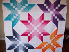 Missouri Star quilt Binding Tool Quilt top.