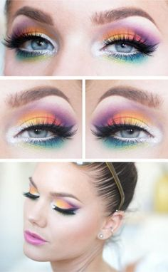 Festival Eye Makeup Ideas | Divine Caroline                              …