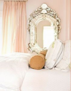 Beautiful French mirror! #lierac #lieracskin #frenchpad #beauty #frenchhome #homedecor #maison #maisonfrancaise