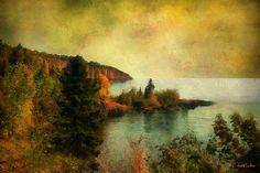 """The Magic Hour"" by RC deWinter #autumn #CoastalArt"