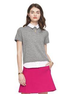 shirttail sweater - kate spade new york