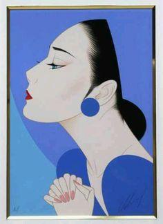 "FB. Japanese art and culture, peace and the world. ""Destination Blue"" of ""Ichiro Tsuruta"""