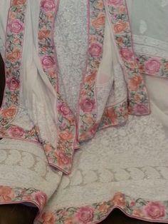Lucknow we dresses 😘 Punjabi Dress, Pakistani Dresses, Indian Dresses, Punjabi Suits, Lehenga Designs, Kurta Designs, Blouse Designs, Indian Suits, Indian Attire