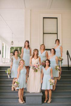 Photography: Danielle Capito Photography - daniellecapitophotography.com Wedding dress: Sarah Seven - www.sarahseven.com Bridesmaids Dresses: Ann Taylor - www.anntaylor.com   Read More on SMP: http://www.stylemepretty.com/2013/12/12/oakland-california-wedding/