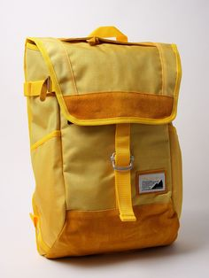Masterpiece over V4 backpack by oki-ni would bring sunshine to any student or traveler who is wearing it!