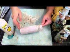 Baroque Bottles with Miranda Edney on Live with Prima - YouTube