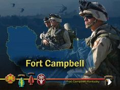 Fort Campbell, Kentucky-home of the 101st Airborne Division   http://www.campbell.army.mil/CAMPBELL/Pages/default.aspx