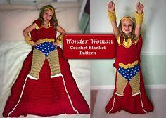 Wonder Woman Blanket Crochet Pattern