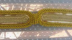 05092f81838 RETOCADOS Y COMPLEMENTOS  Colección cinturones de cordón seda