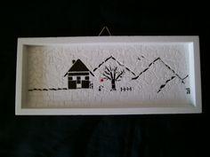 Kleines Mosaik, little new mosaic. 10*25 cm