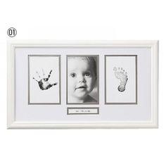 ペアヘッド メモリアルフォトフレーム(手形足型つき)のホワイト01(27×45×1.8cm)の通販なら【赤すぐnet】/マタニティ・妊婦から赤ちゃん/ベビー服・子供服の通販