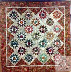 Pattern is Shooting Star by Edyta Sitar ...great quilt.
