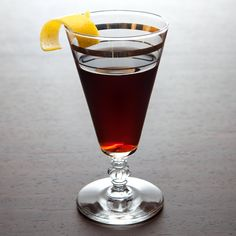 If you're worldly and you know it, drink this cocktail. Try the Intercontinental, which combines armagnac, amaro and maraschino liqueur. Tequila, Manhattan Recipe, Manhattan Cocktail, Joy Division, Cocktail Glass, Pint Glass, Gin, Liquor, Cocktails