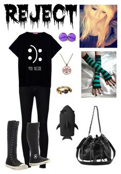 """""""Untitled #215"""" by unicorn1233 ❤ liked on Polyvore featuring Ström, Converse, STELLA McCARTNEY and Pamela Love"""