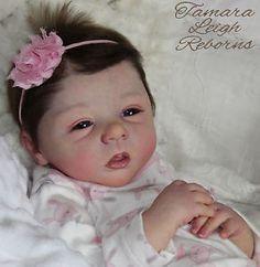 Lelou Evelina Wonsjuk Tamara Leigh Reborns Tamara Auty Reborn baby girl Doll fake baby