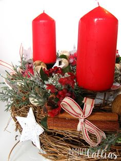 Project Gallias: Sezon na wieniec, Advent wreath by ProjectGallias