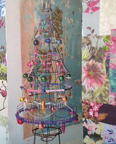 Lampshade Christmas Tree   Sarah Moore HOME