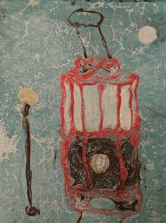 Nukhet OCAK BALKAN; Ebrularımdan örnekler; tramvay Painting, Art, Art Background, Painting Art, Kunst, Paintings, Performing Arts, Painted Canvas, Drawings