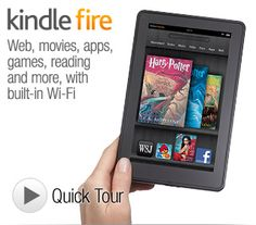 """Kindle Fire - Full Color 7"""" Multi-Touch Display with Wi-Fi - More than a Tablet... I own the Kindle Keyboard 3G (my wife uses it mainly) and the Kindle Fire. An excellent tool for all of my Kindle books, music files and more!"""