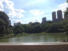 Central Park bows bridge