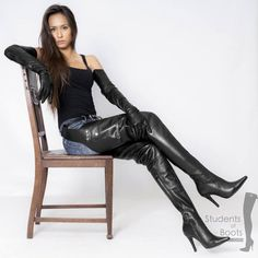 chaps thigh high boots - 2019 New Chap Thigh High Belted Boots Pointed Toe High Heels Side Zipper Shoes Women Black Leather Waist Over The Knee Boots Source by oetzischmoelzel - Womens Thigh High Boots, Thigh High Boots Heels, Hot High Heels, Thigh High Leather Boots, Black Leather, Stiletto Boots, Crotch Boots, Sexy Stiefel, Black High Boots
