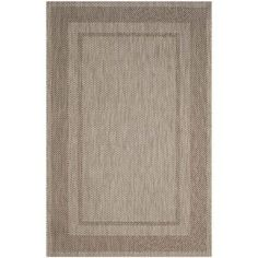 "Safavieh Courtyard Beige Indoor Outdoor Rug - Runner 2'3"" x 12'"