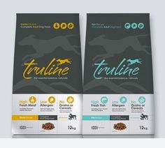 Nice logo: G1 Creative design branding and packaging for premium dog food